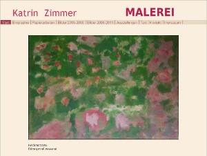Website der Künstlerin Katrin Zimmer -> Katrin-Zimmer.de