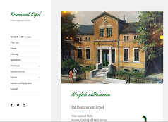 Website Restaurant Erpel