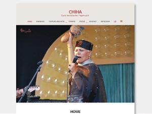 Website der Sängerin Chiha WWW.chiha.de